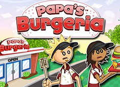 Papas Burgeria game