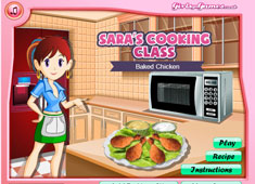 Sara's Cooking Class: Baked Chicken game
