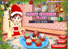Sara's Cooking Class: Cake Balls game