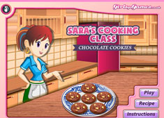 Sara's Cooking Class: Chocolate Cookies game