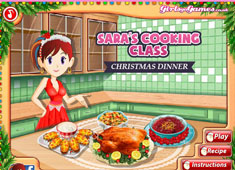 Sara's Cooking Class: Christmas Dinner game