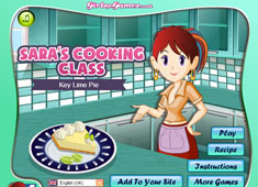 Sara's Cooking Class: Key Lime Pie game