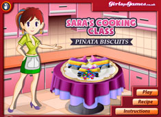 Sara's Cooking Class: Pinata Biscuits game