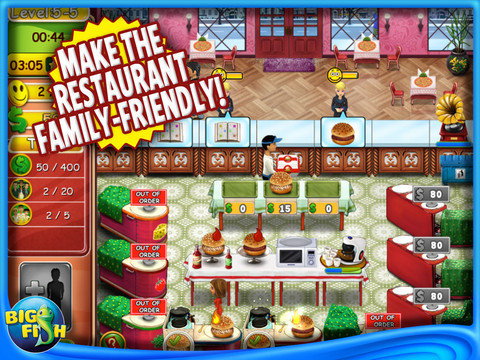 Burger Bustle 2 Game: View 2