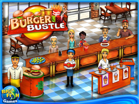 Download Burger Bustle Game